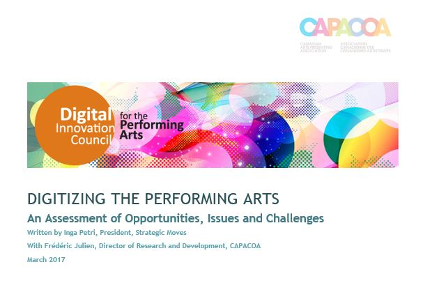Digitizing the Performing Arts: An Assessment of Opportunities, Issues and Challenges