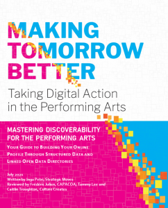 MASTERING DISCOVERABILITY FOR THE PERFORMING ARTS